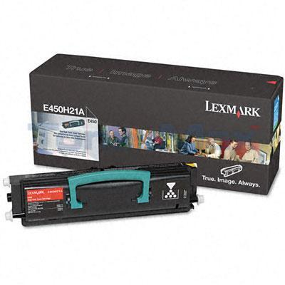 LEXMARK E450 TONER CARTRIDGE BLACK 11K